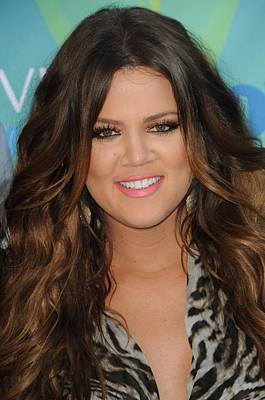 Khloe Kardashian At Arrivals For 2011 Poster by Everett
