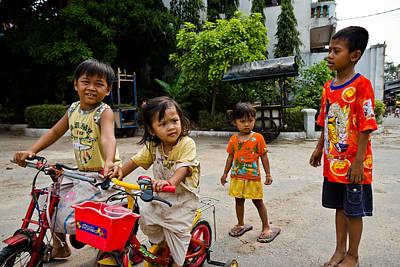 Khmer Kids Poster