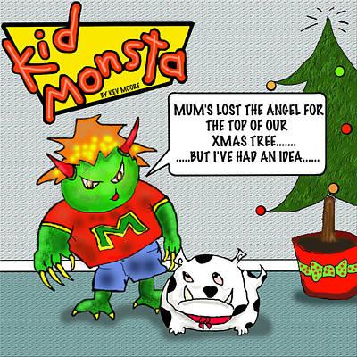 Kid Monsta Xmas 1 Poster