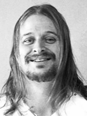 Kid Rock Mug Shot Black And White Poster by Tony Rubino