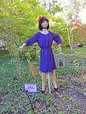 Kiki's Delivery Scarecrow At Cheekwood Botanical Gardens Poster