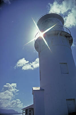Poster featuring the photograph Kilauea Lighthouse by Marie Hicks