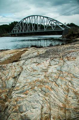 Kilefjorden Broa Poster by Mirra Photography