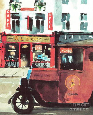 Kilkenny  M. L. Dore Poster by Val Byrne