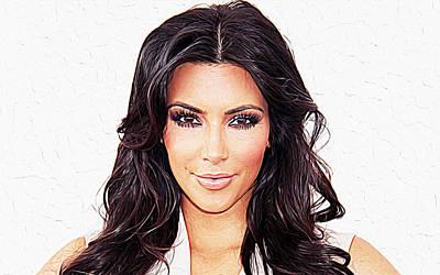 Kim Kardashian Poster by Iguanna Espinosa