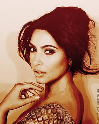 Kim Kardashian Sollievo Poster