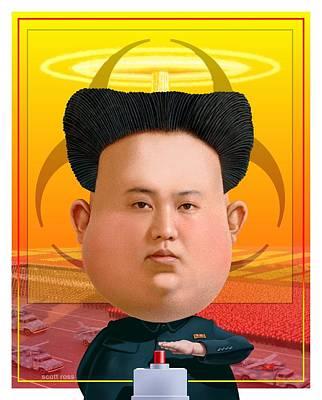 Kim Jong Un 2016 Poster