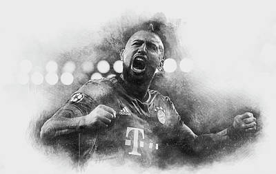 King Arturo Poster by Robert Barsby