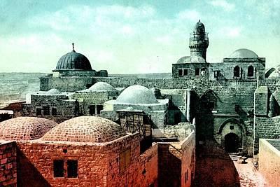 King David Tomb Poster