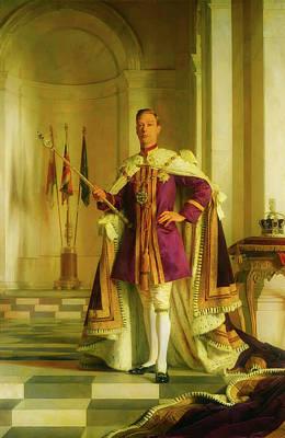 King George Vi Poster by Sir George Kelly