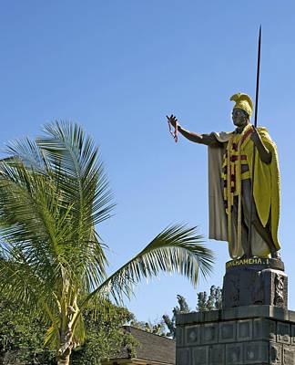 King Kamehameha Statue Hawaii Poster