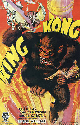 King Kong Poster by Georgia Fowler