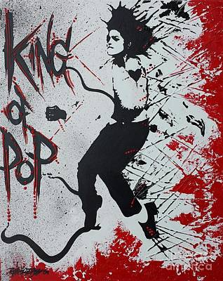 King Of Pop Poster by Renate Dubose