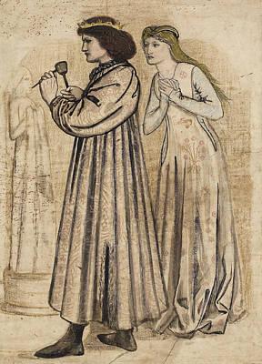 King Rene's Honeymoon Poster by Edward Burne-Jones