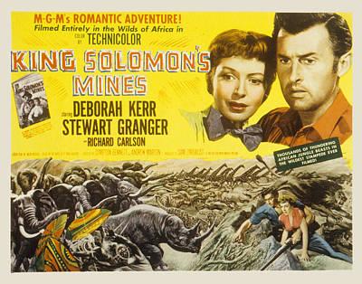 King Solomons Mines, Deborah Kerr Poster by Everett