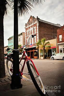 King Street Charleston Sc  -7436 Poster