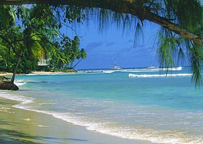 King's Beach, Barbados Poster
