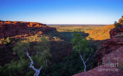 Kings Canyon Panorama Poster