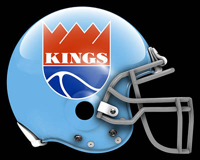 Kings What If Its Football 2 Poster by Joe Hamilton