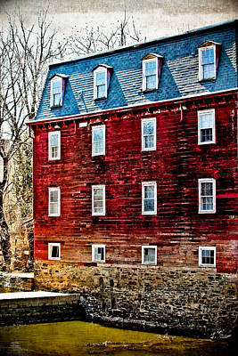 Kingston Mill Poster by Colleen Kammerer