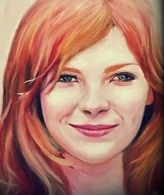 Kirsten Caroline Dunst Poster by Peter Kang