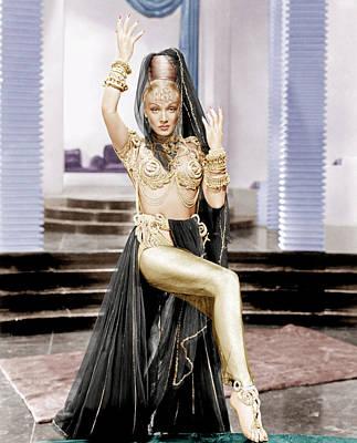 Kismet, Marlene Dietrich, 1944 Poster