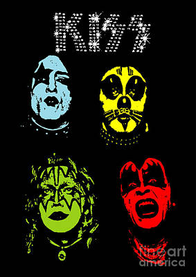 Kiss No.02 Poster by Caio Caldas