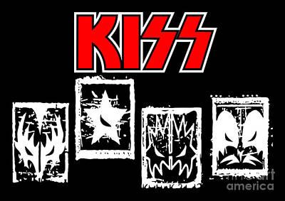 Kiss No.03 Poster by Caio Caldas
