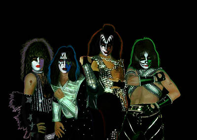Kiss Solos Best Of Poster