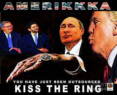 Kiss The Ring Poster