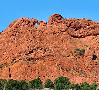 Kissing Camels - Garden Of The Gods Poster