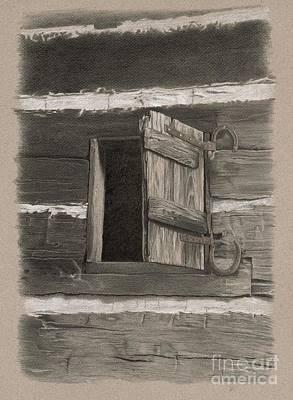 Kitchen Window Poster by Nancy Hilgert