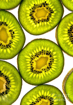 Kiwi Fruit Poster by Bruce Stanfield
