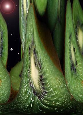 Kiwi Space Poster