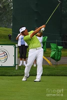 Kj Choi Pga Professional Golfer Poster