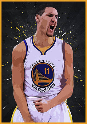 Klay Thompson Poster by Semih Yurdabak