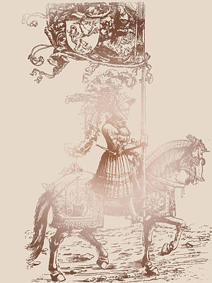 Knight In Shining Armor Poster by