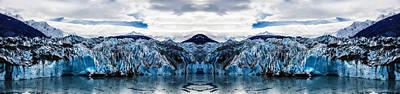Knik Glacier Reflection Poster by Pelo Blanco Photo