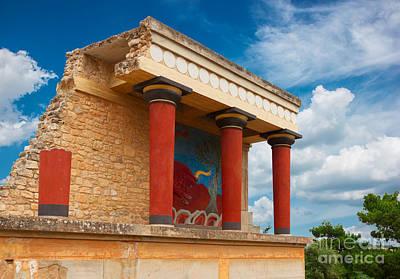 Knossos Palace At Crete, Greece Poster