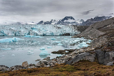 Knud Rasmusen Glacier Greenland 7155 Poster