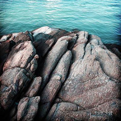 Poster featuring the photograph Ko Samet Rocks by Joseph Westrupp