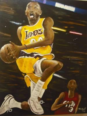 Kobe Poster by Anthony Hurt