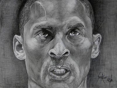 Kobe Bryant Poster by Stephen Sookoo