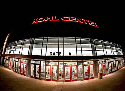 Kohl Center Curves Poster by Todd Klassy