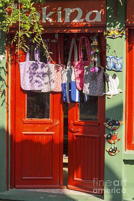 Kokina Red Door Poster