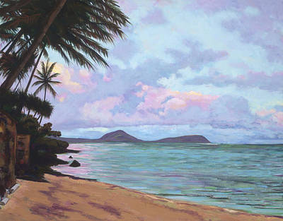 Koko Palms Poster by Patti Bruce - Printscapes