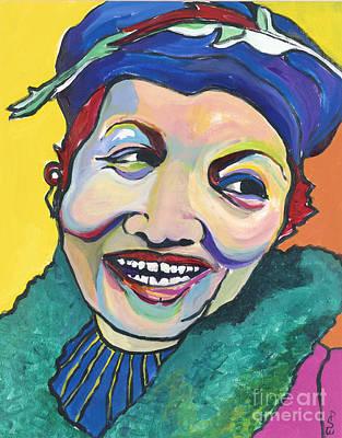 Koko Vivienne Poster by Pat Saunders-White