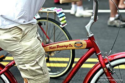 Kona Beer Bike Poster