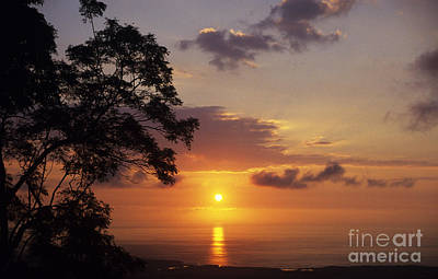 Kona Coast Sunset Poster by Peter French - Printscapes