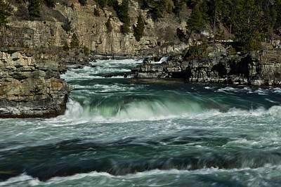 Kootenai Falls, Montana 2 Poster
